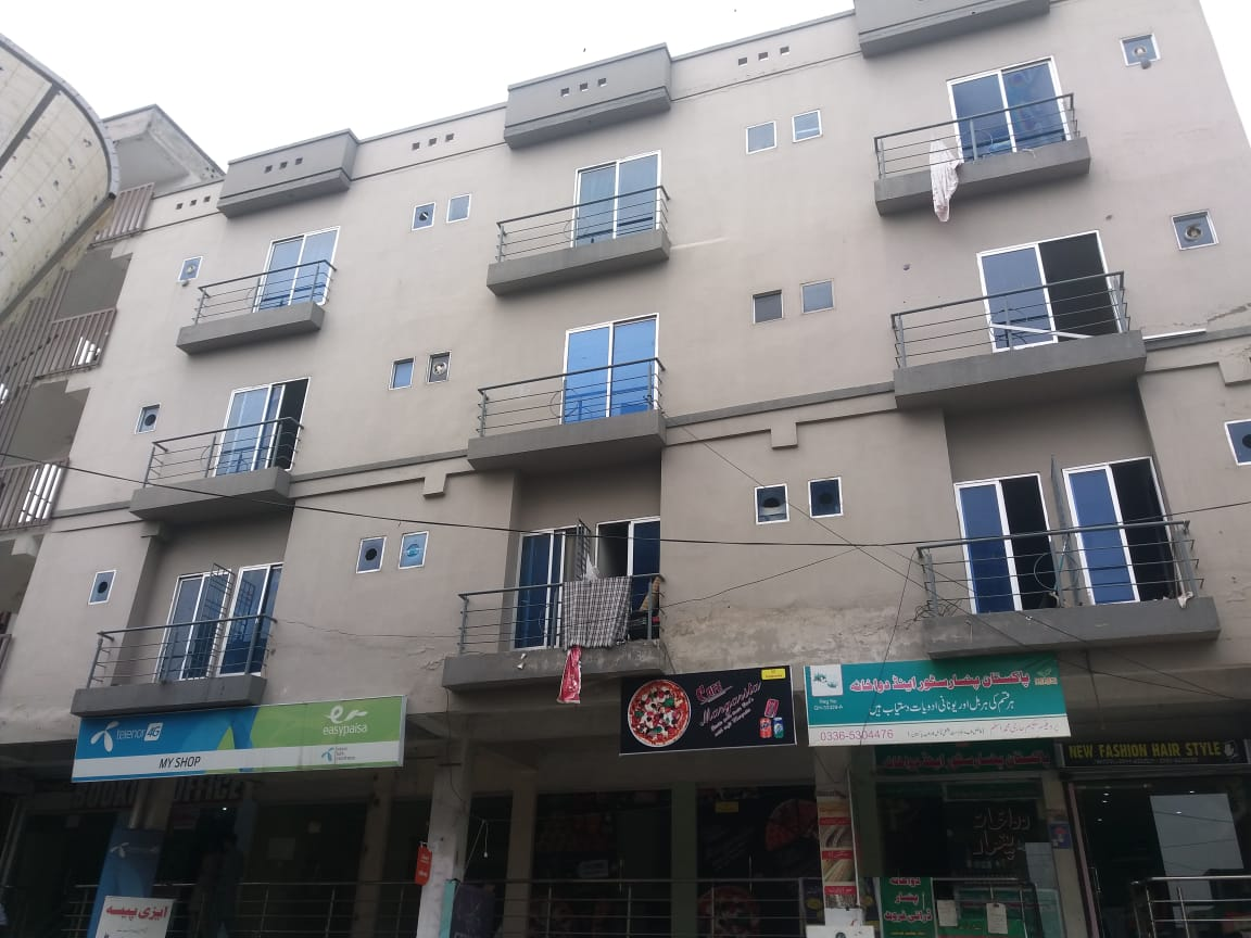 Two Bed Apartment For Sale in Pakistan Town Phase 1 Islamabad