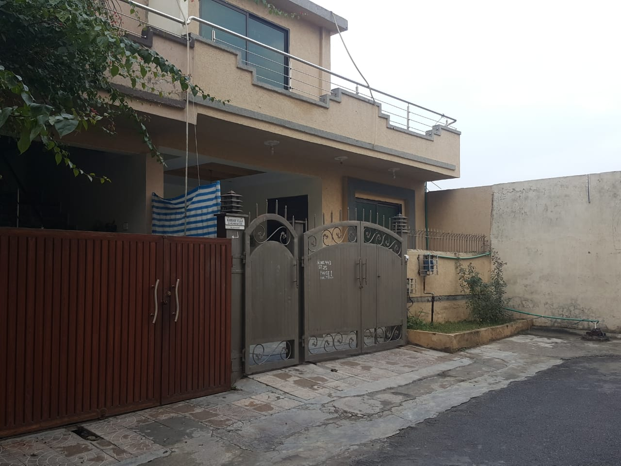 5 Marla Single Storey House for Sale in Pakistan Town Phase 1 Islamabad