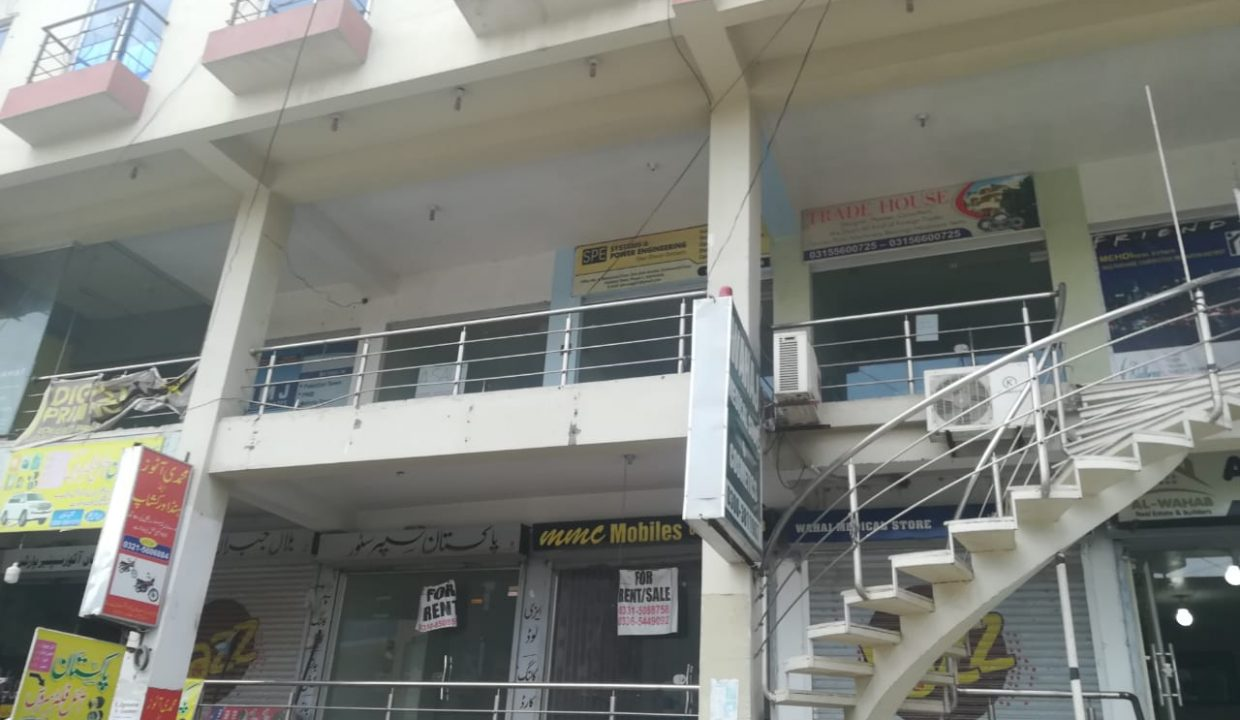 shop for rent in Pakistan town Islamabad