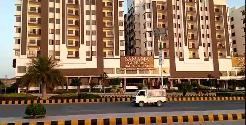 Flat for Sale and Rent in SAMAMA Mall & Residency Gulberg Greens Islamabad