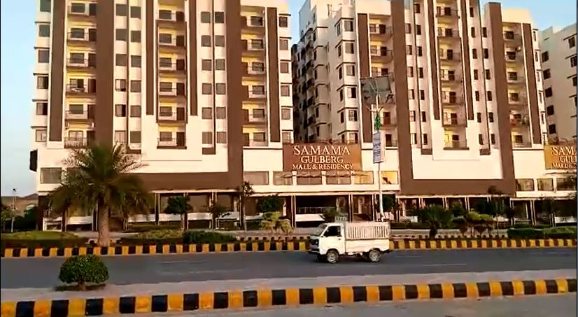 1,2,3 Bed Flat for Sale and Rent in SAMAMA Mall & Residency Gulberg Greens Islamabad
