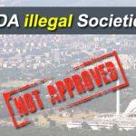 CDA illegal Societies