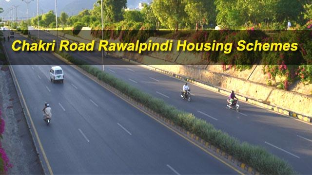 Chakri Road Rawalpindi housing schemes