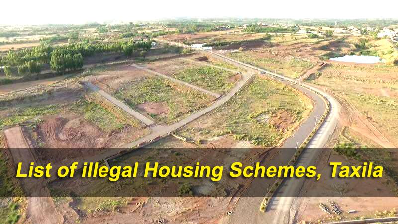 LIST-OF-ILLEGAL-HOUSING-SCHEMES-TEHSIL-TAXILA