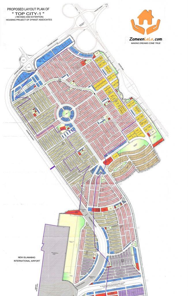 Top City-1 Islamabad Master Plan