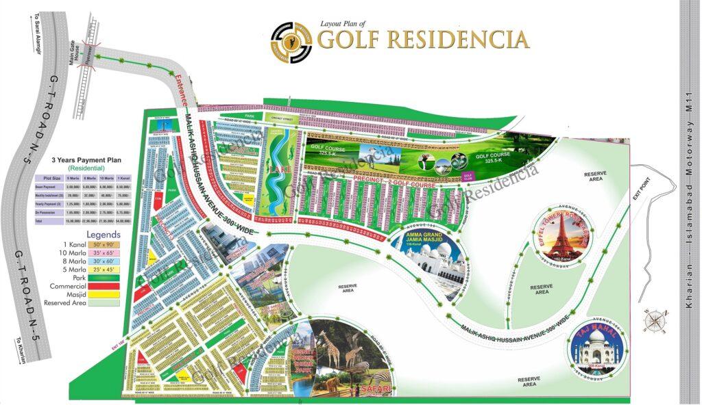 Golf Residencia Master Plan