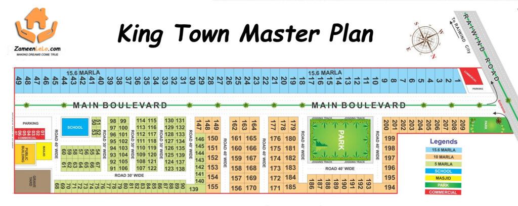 Kings-Town-Lahore-Master-Plan