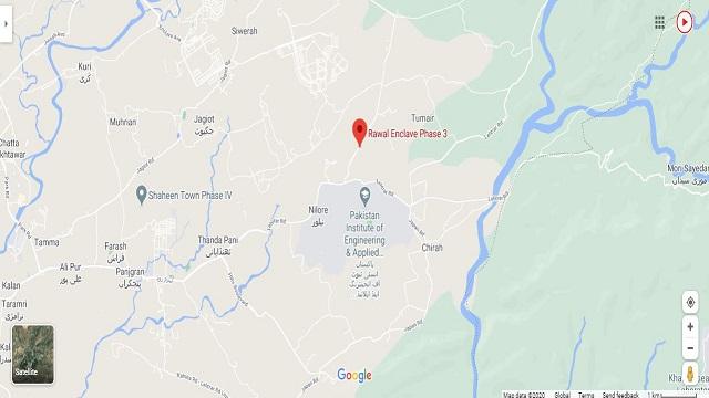 Rawal-Enclave-Islamabad-Phase-3-Google-Location-Map
