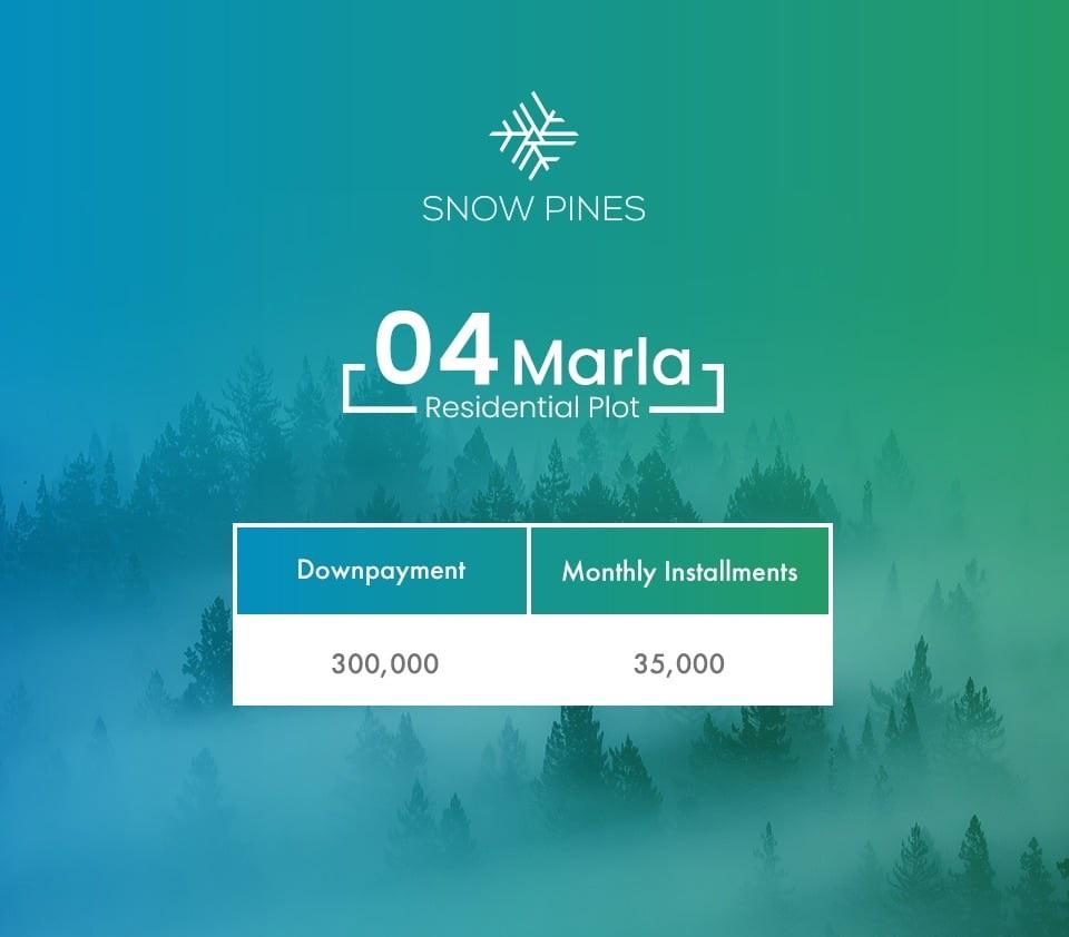 4Marla-Plot-Payment-Plan-Snow-Pines-Murre
