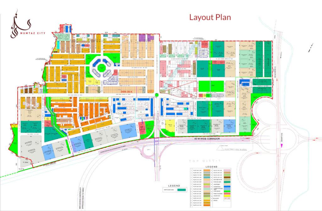 Mumtaz-City-islamabad-Master-Plan-Map