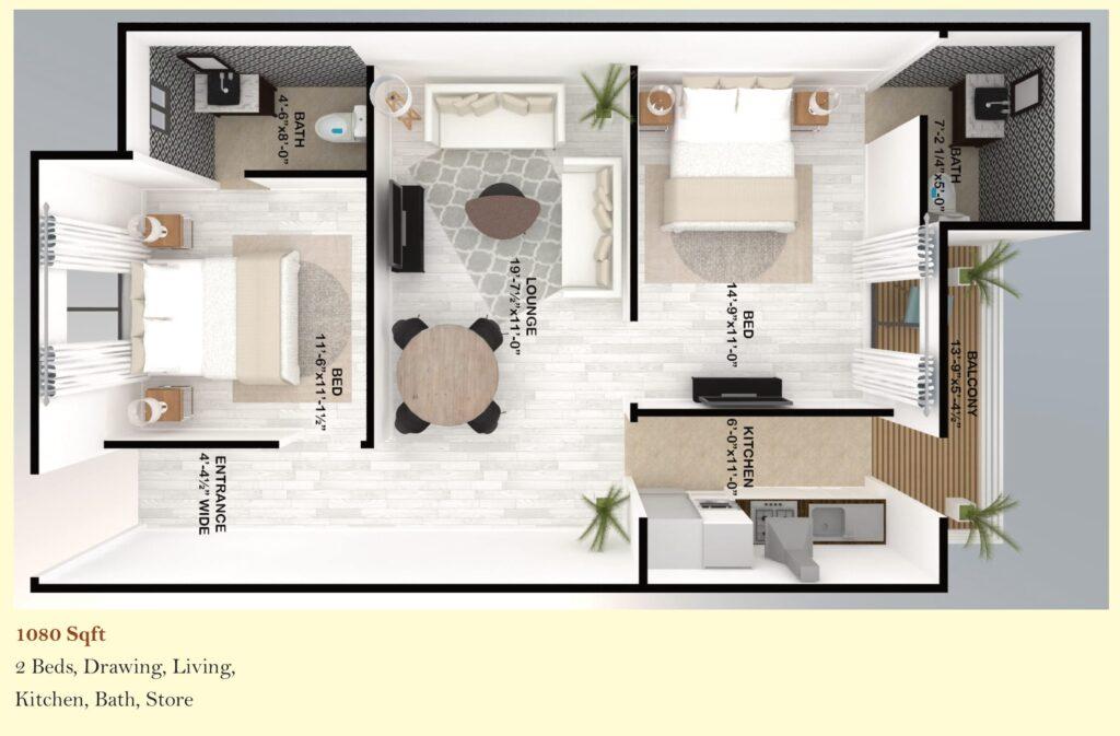 Skyline-Apartment-FGEHA-Islamabad-Layout-Plan-1080-sqft