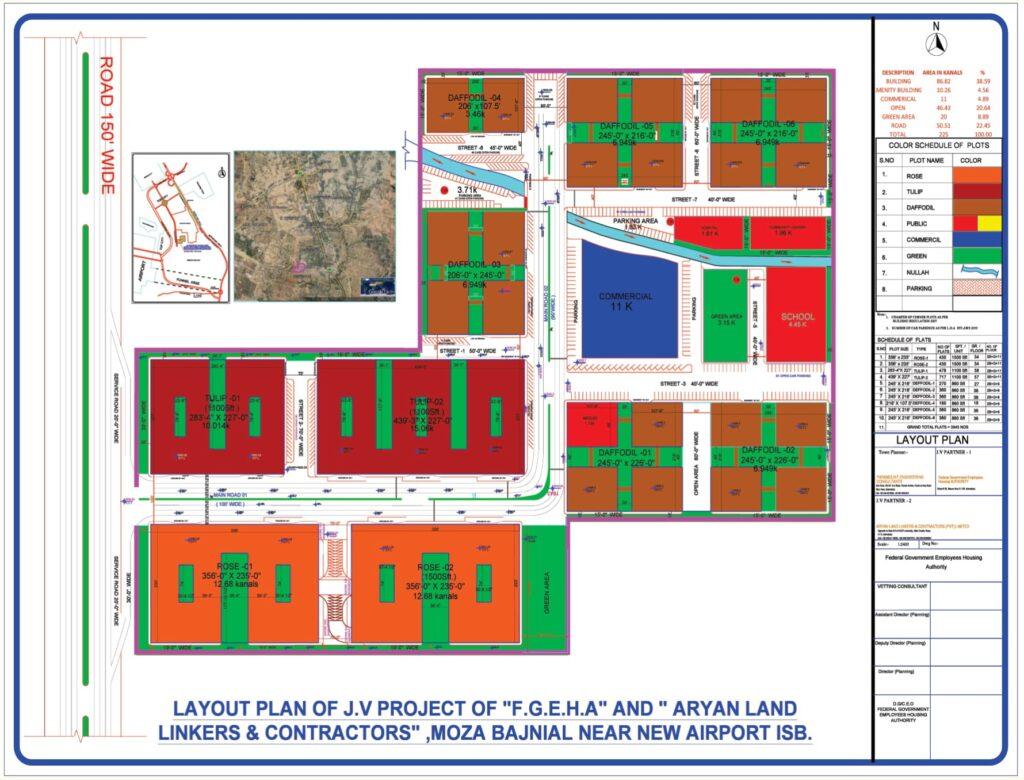 Skyline Apartment FGEHA Islamabad Master Plan