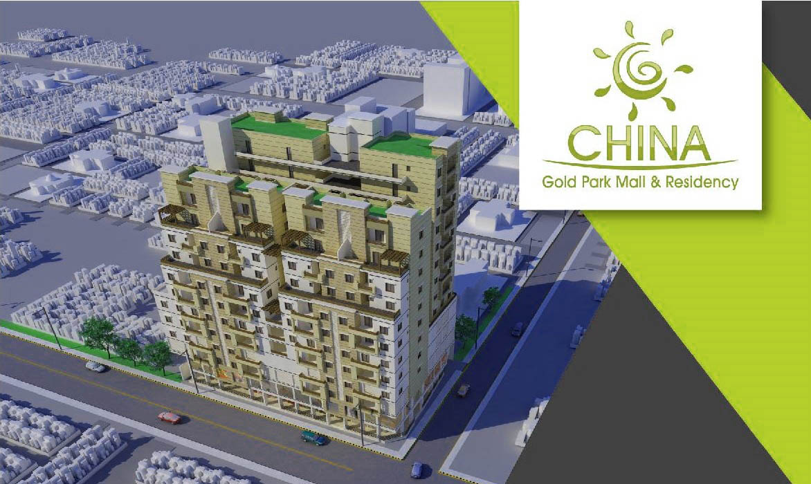 China Gold Park Mall and Residency