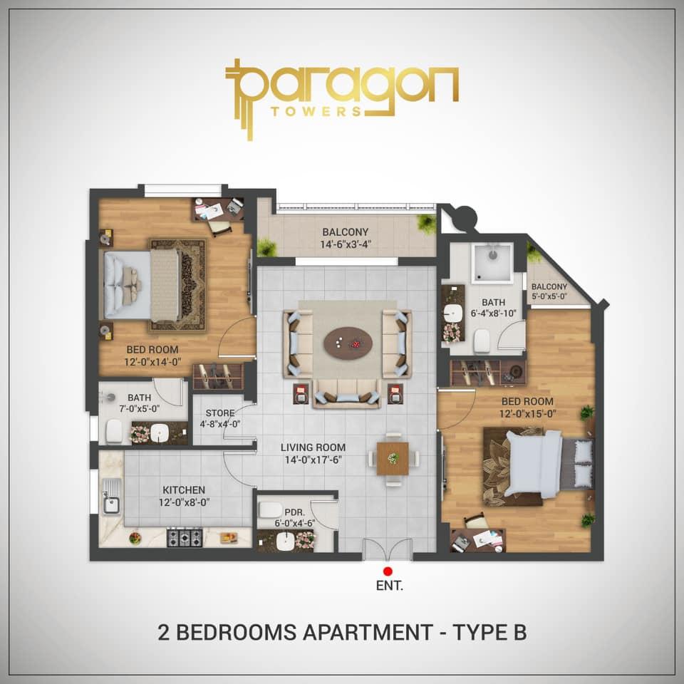 Paragon-Towers-Karachi-Floor-Layout-Plan-2