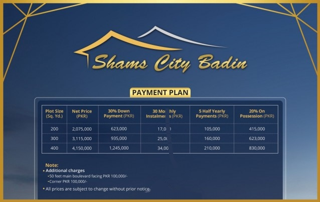 Shams-City-Badin-Payment-Plan-and-price