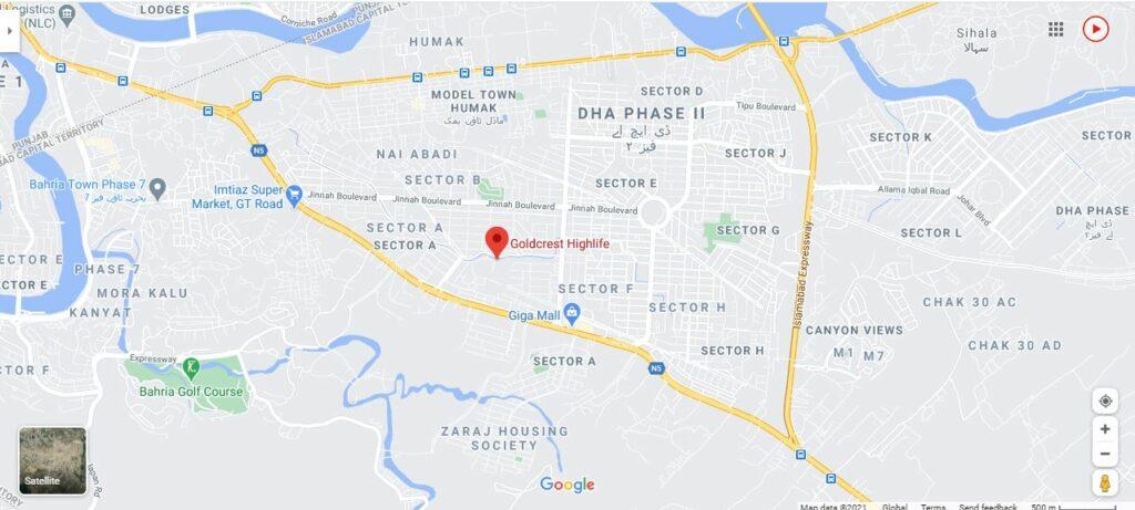 goldcrest-highlife-location