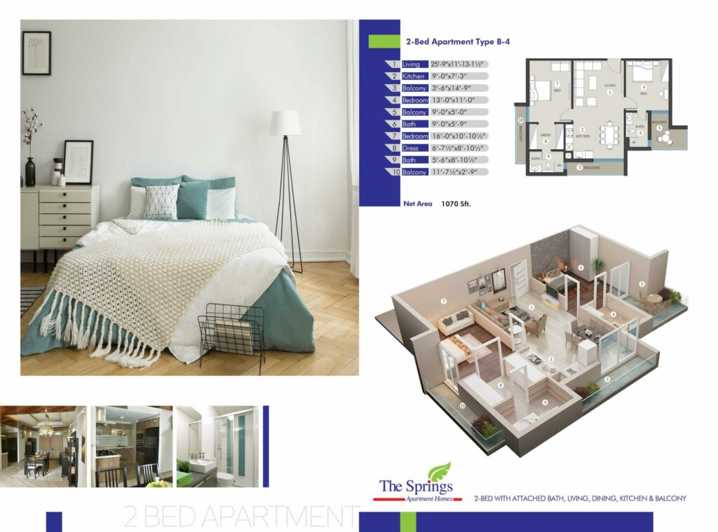 2-Bed-Apartment-layout-plan-map-The-Springs-Apartment-Gulberg-Lahore