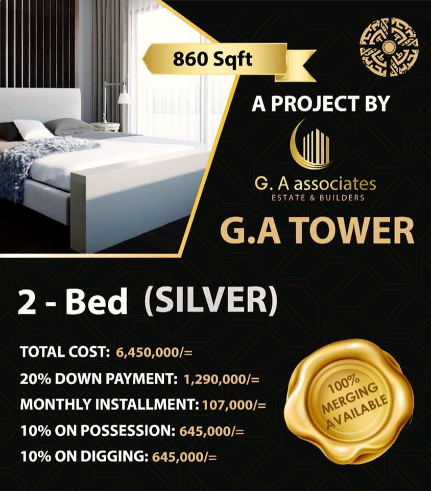 2-bed-silver-Payment-Plan-G.A-Tower-Bahria-Town-Karachi