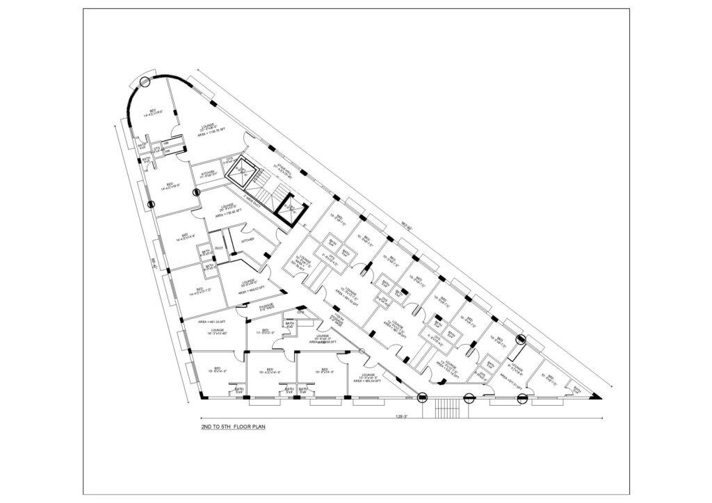 2nd-to-5th-Floor-Plan-Map-Mall-VIII-mamtaz-city-islamabad