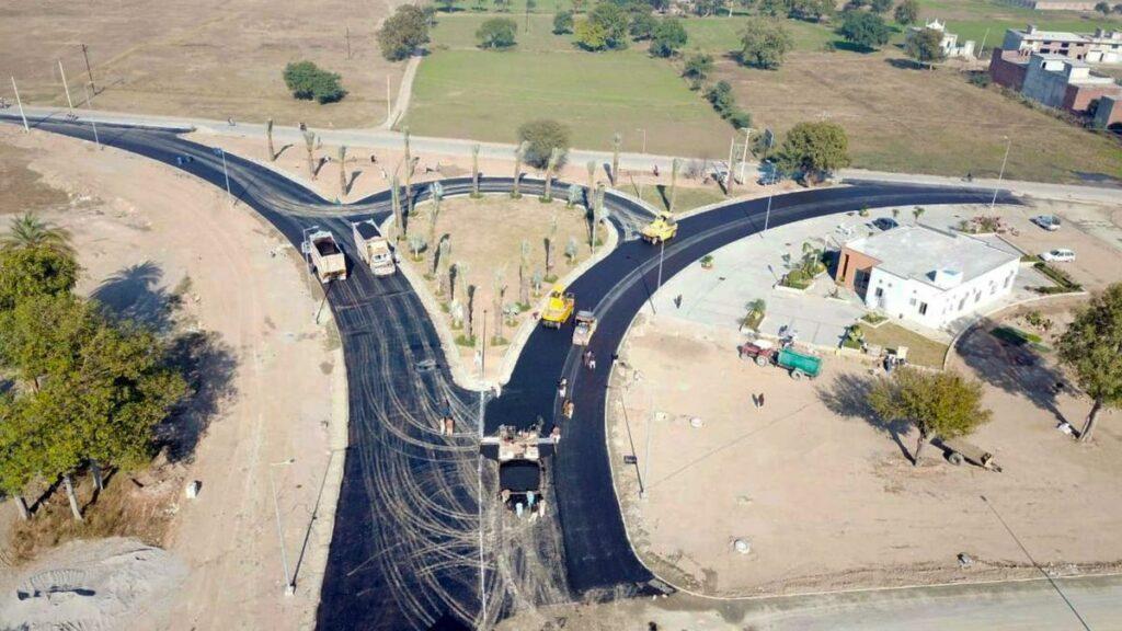 Development-work-Dream-Gardens-Wazirabad-1