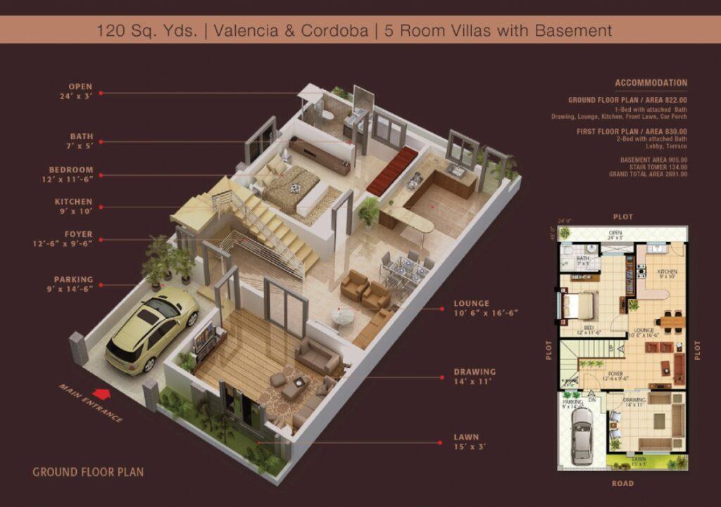 Ground-Floor-Layout-Plan-Map