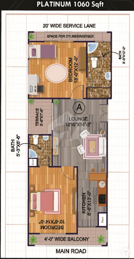 Layout-Plan-Map-G.A-Tower-Bahria-Town-Karachi-3