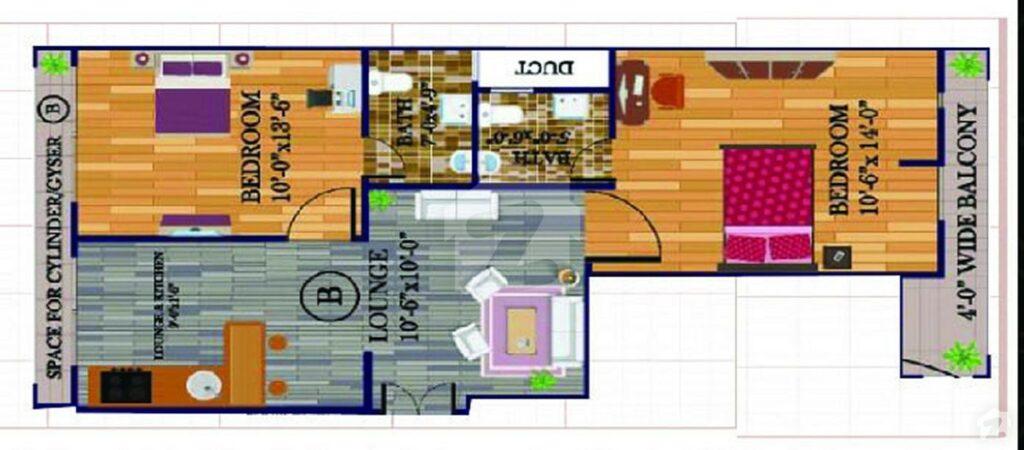 Layout-Plan-Map-G.A-Tower-Bahria-Town-Karachi-5