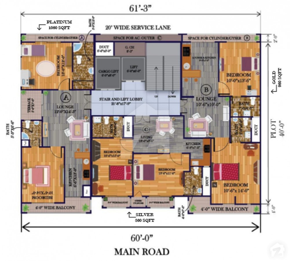 Layout-Plan-Map-G.A-Tower-Bahria-Town-Karachi-6