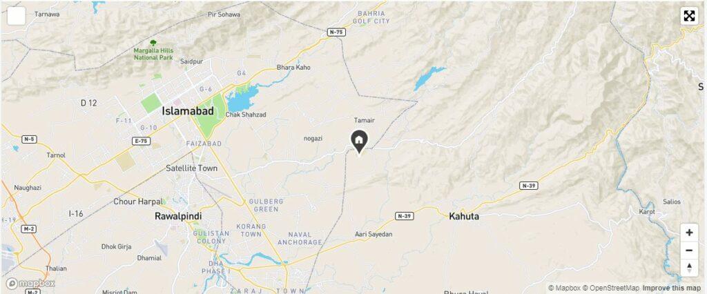 Location-Al-Qaddar-Enclave-Islamabad