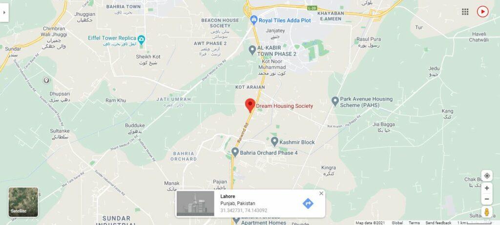 Location-Dream-Housing-Lahore