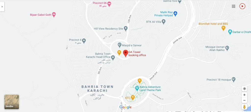Location-Map-G.A-Tower-Bahria-Town-Karachi