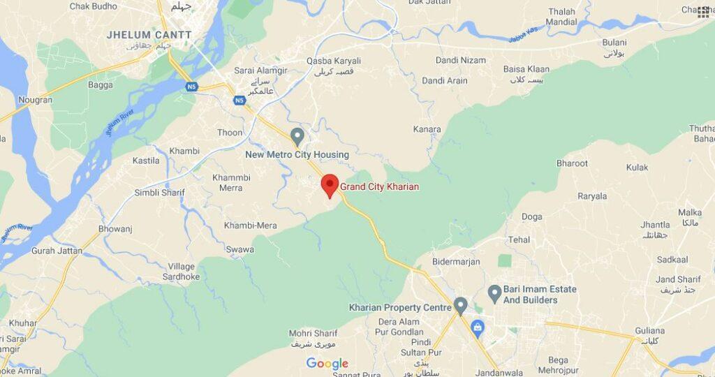 Location-Map-Grand-City-Kharian