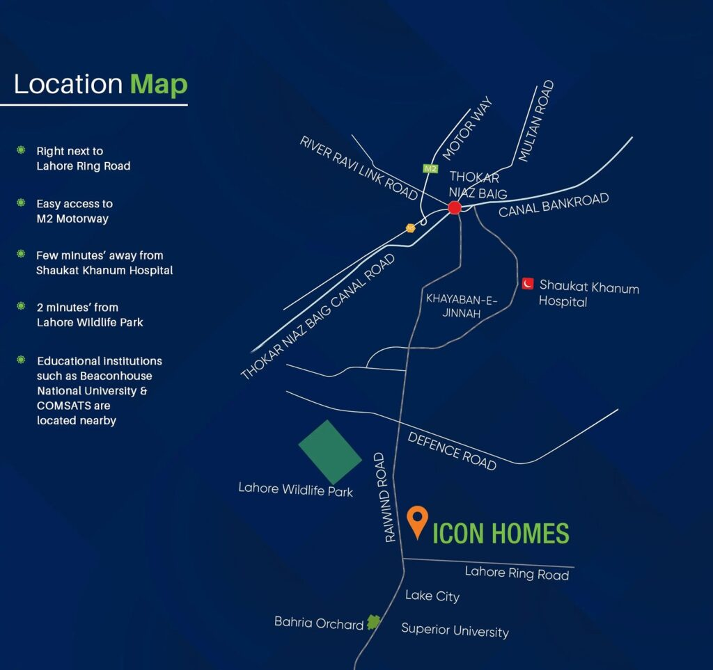Location-Map-Icon-Homes-Lahore