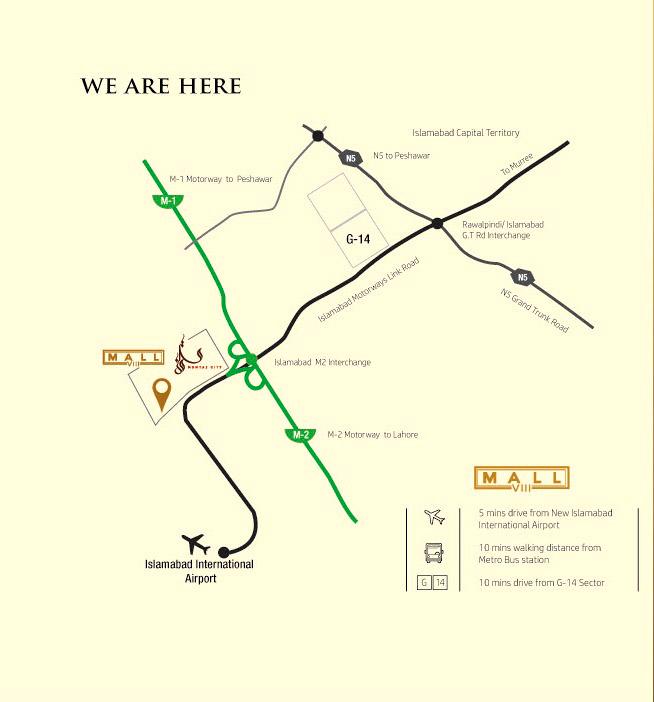 Location-Map-Mall-VIII-mamtaz-city-islamabad