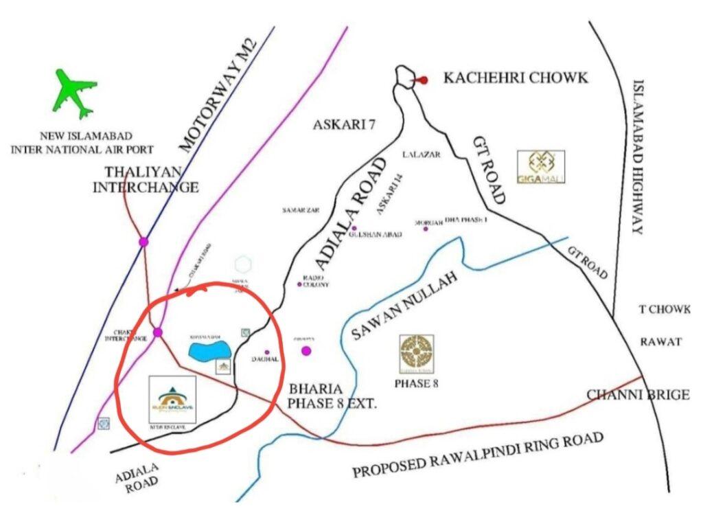 ATTACHMENT DETAILS  Location-Map-Rudn-Enclave