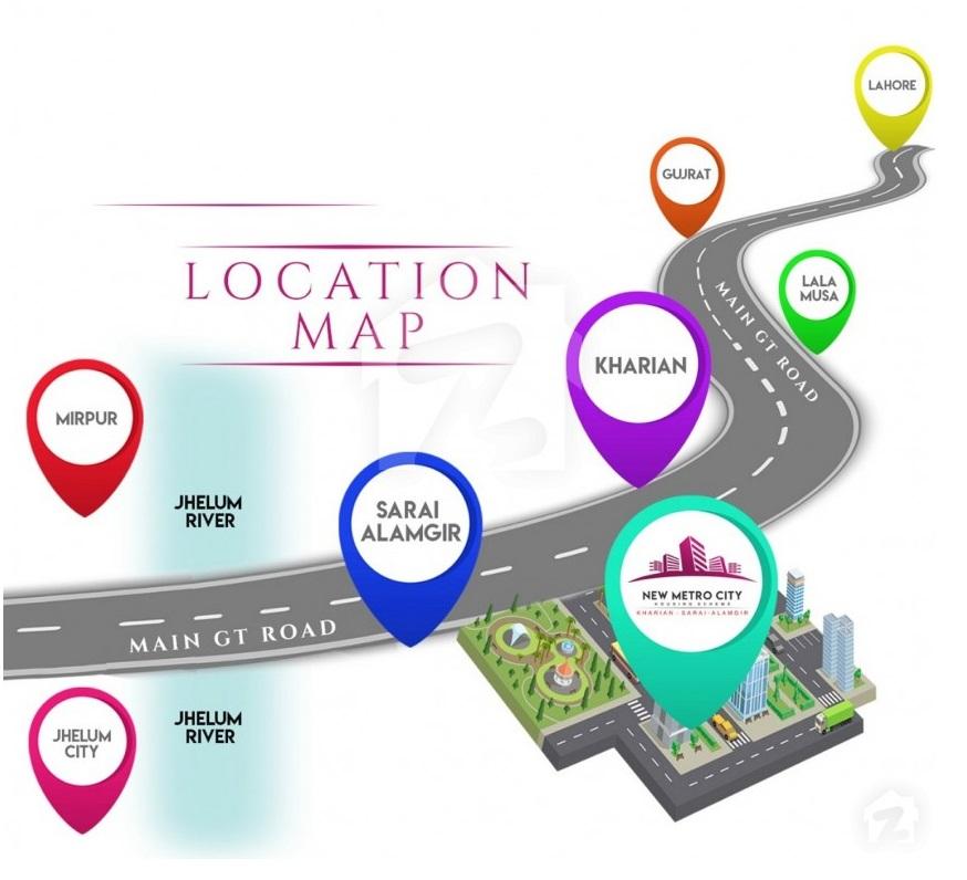 Location-new-metro-city-kharian