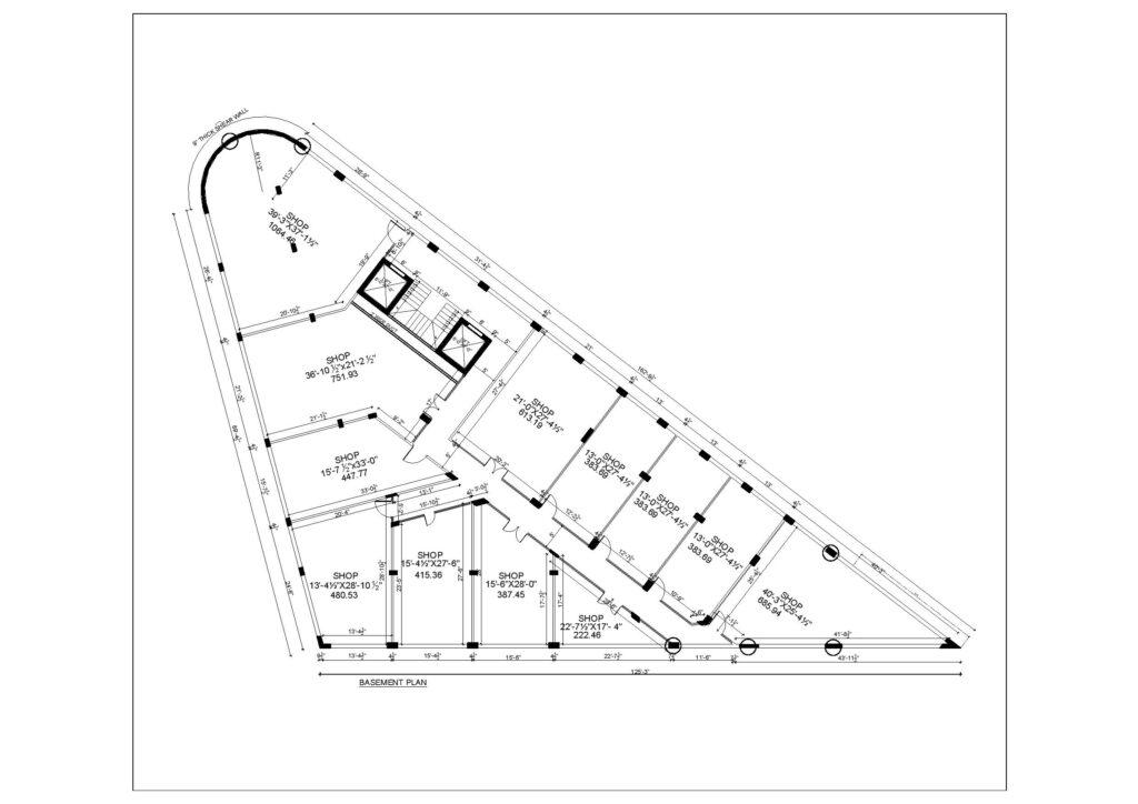 basement-plan-map-Mall-VIII-mamtaz-city-islamabad