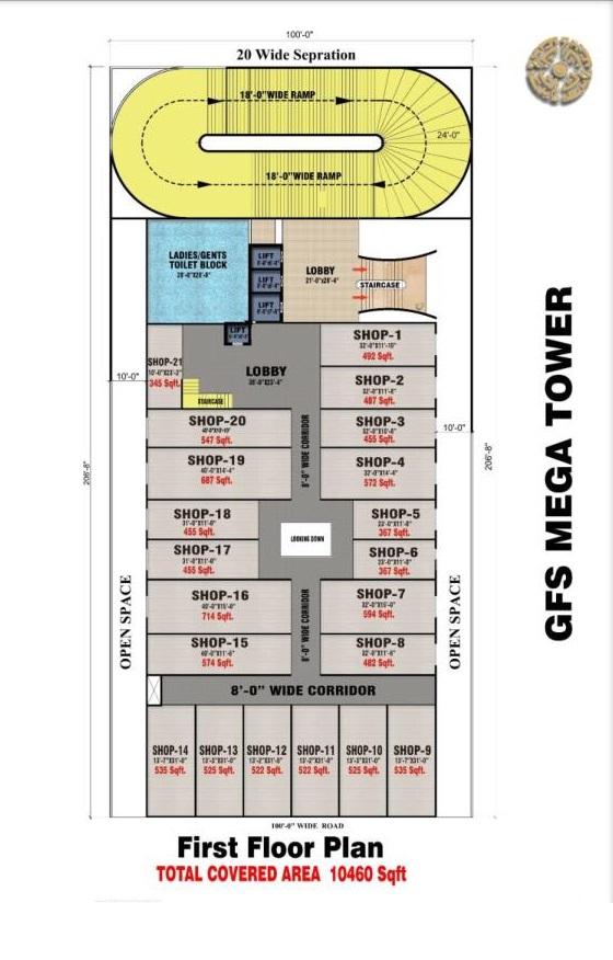 first-floor-layout-plan-map-GFS-Mega-Tower