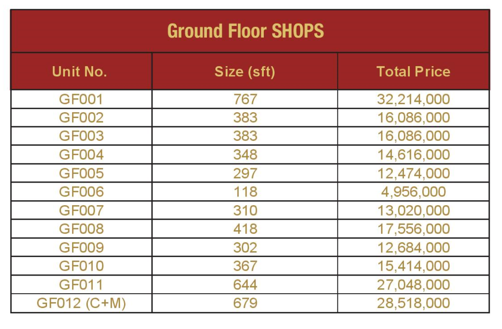 ground-floor-shop-Payment-Plan-and-price-Mall-VIII-mamtaz-city-islamabad