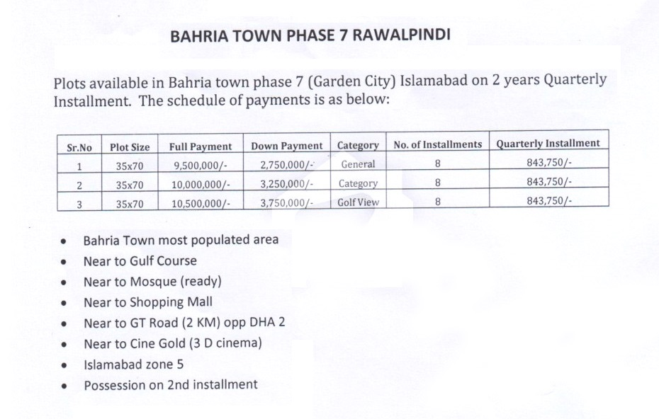 payment-plan-and-price-bahria-garden-city