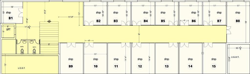 Basement-Floor-Plan-Map-Prak-Tower-Lahor