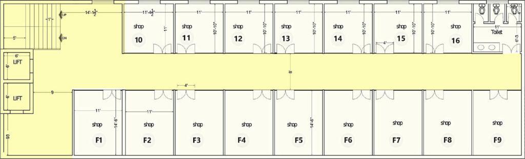 First-Floor-Plan-Map-Prak-Tower-Lahore
