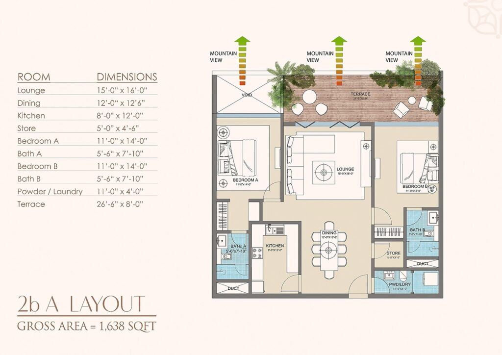 Layout-Plan-apartment-golf-floras-luxury-apartments-islamabad-2
