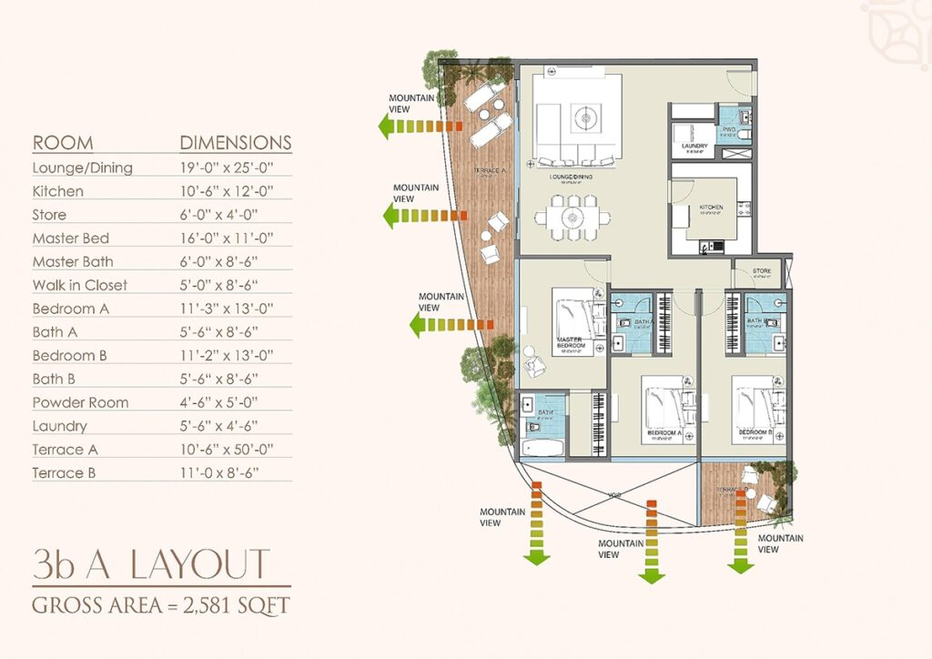 Layout-Plan-apartment-golf-floras-luxury-apartments-islamabad-3
