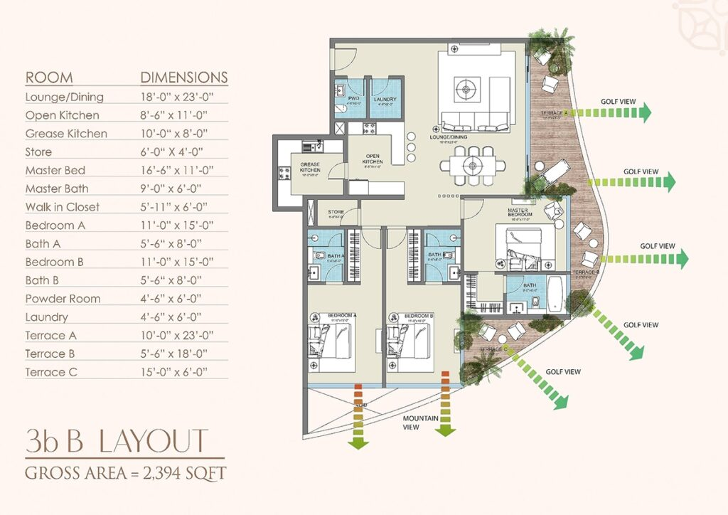Layout-Plan-apartment-golf-floras-luxury-apartments-islamabad-4