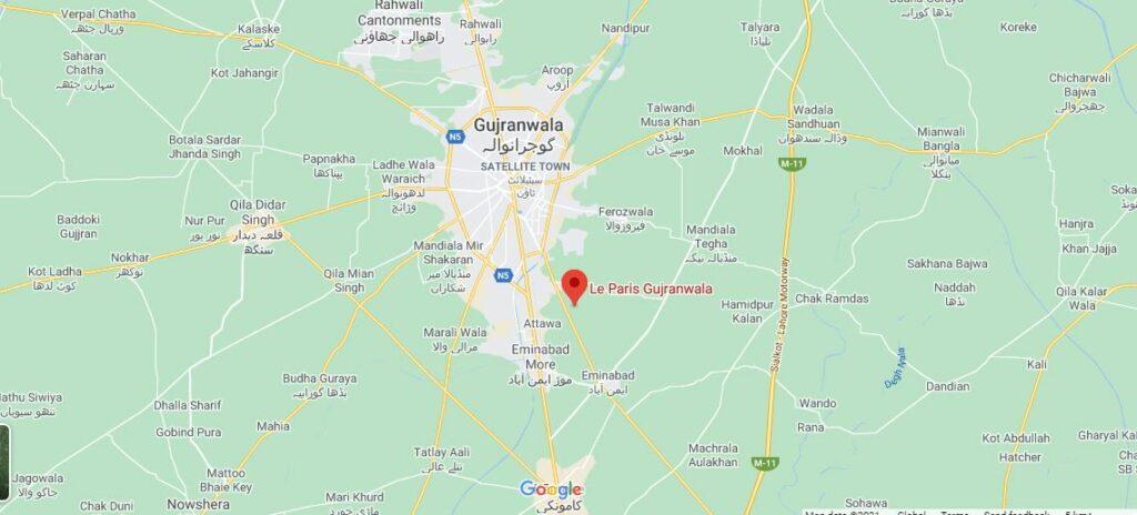 Location-Le-Paris-Gujranwala