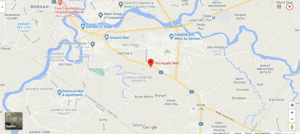 Location-THE-AQUATIC-MALL-Islamabad