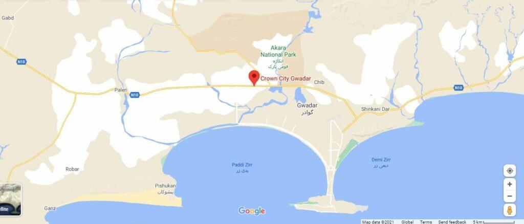 Location-crown-city-Gwadar