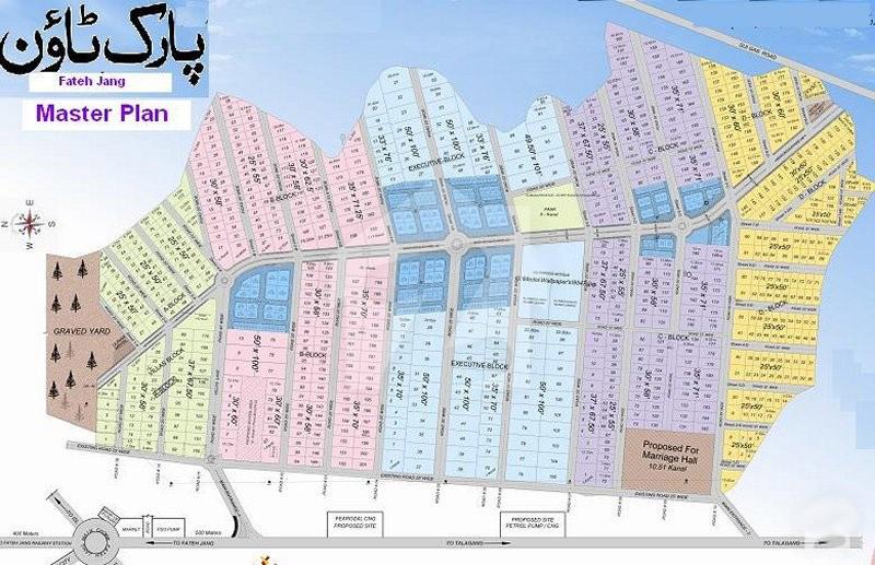 Master-Plan-Park-Town