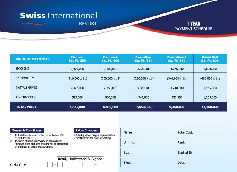 Payment-Plan-Swiss-International-hotel